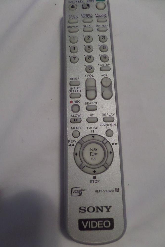SONY RMT-V402B VCR REMOTE CONTROL SLV-N700 SLV-N88