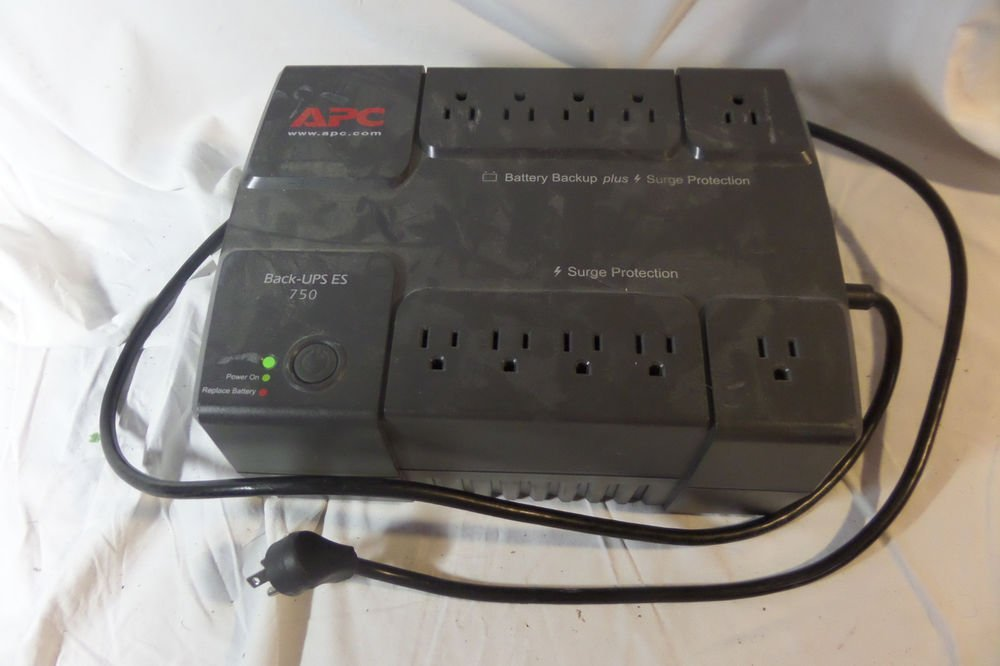 APC Back-UPS ES 750 BE750BB Uninterruptible Power Supply and Surge Protector