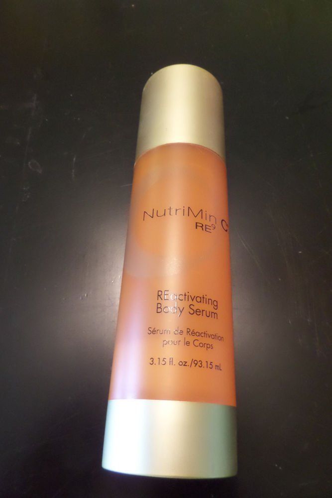 Arbonne NutriMin C RE9 REactivating Body Serum FULL SIZE 3.15 oz