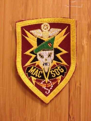 MACV-SOG Patch, Re-Production, New, Excellent Condition