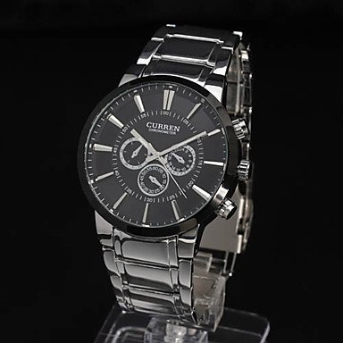 Men's Watch Dress Watch Water Resistant Fashion Steel Band - SPECIAL PRICE