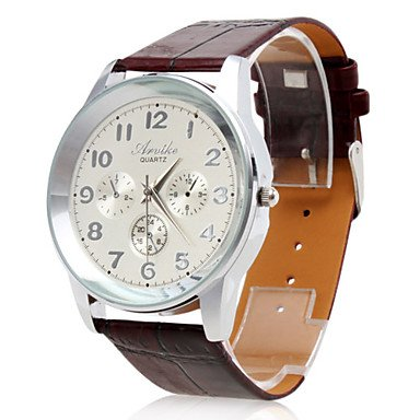 Men's Wrist Watch Dress Watch Big Numerals - **DISCOUNT**