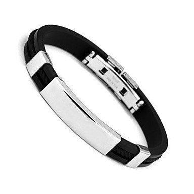 ** Men's Cuff Bracelet Bangles Stainless Steel Bracelet **