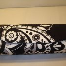 AUTH NEW VERA BRADLEY EYEGLASSES SUNGLASSES HARD CASE MIDNIGHT PAISLEY # 09
