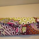 AUTH NEW VERA BRADLEY EYEGLASSES SUNGLASSES HARD CASE VERY BERRY PAISLEY # 27