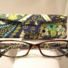 AUTH NEW VERA BRADLEY EYEGLASSES SHELBY RHYTHM & BLUES (TORT) w/ CASE