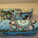 2 AUTH NEW VERA BRADLEY EYEGLASSES SUNGLASSES CASES BALI BLUE # 4