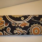AUTH NEW VERA BRADLEY EYEGLASSES SUNGLASSES HARD CASE CAFE LATTE # 12