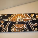 AUTH NEW VERA BRADLEY EYEGLASSES SUNGLASSES HARD CASE CAFE LATTE # 17