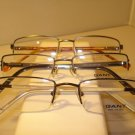 AUTH LOT 3 GANT ASSORTED MENS EYEGLASSES  SEMI RIMLESS