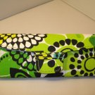 AUTH NEW VERA BRADLEY EYEGLASSES SUNGLASSES HARD CASE LIMES UP #06