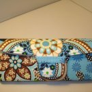 AUTH NEW VERA BRADLEY EYEGLASSES SUNGLASSES  HARD CASE BALI BLUE # 08