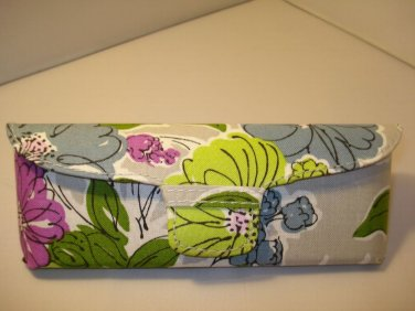 AUTH NEW VERA BRADLEY EYEGLASSES SUNGLASSES HARD CASE WATERCOLOR #17