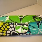 AUTH NEW VERA BRADLEY EYEGLASSES SUNGLASSES HARD CASE LIMES UP #12