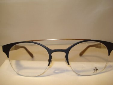 AUTH NEW ORIGINAL PENGUIN EYEGLASSES THE BERNARD SEMI RIMLESS GUNMETAL UNIQUE