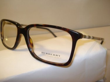 AUTH NEW BURBERRY EYEGLASSES 2137 TORTOISE 3002