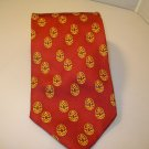 NEW FORBES COLLECTION ROSEBUD EGG by FABERGE TIE 100% SILK