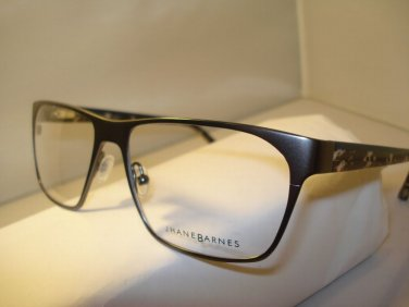 AUTH NEW JHANE BARNES EYEGLASSES SURFACE GUNMETAL