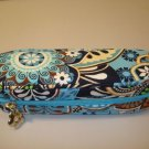 AUTH NEW VERA BRADLEY EYEGLASSES ZIPPERED CASE BALI BLUE # 15
