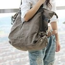 1. Canvas & Leather Bag Shoulder Bag Messenger. FREE DELIVERY