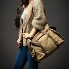 Vamp 2 Vintage Canvas leather travel bag
