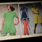 1972 Simplicity Fashion News vintage sewing ephemera Pick-A-Knit pattern 1970s