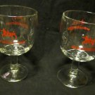 2 glasses from Toby's bar/restaurant~10th anniversary~Great Gift for your Toby!