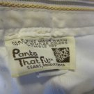 Sears Roebuck & Co~Pants that Fit~white women's pants/trousers~FREE US SHIPPING