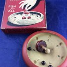 Vintage 1932 Antique Whirl-It Fun For All Spinning Top Game Toy