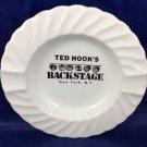 Ted Hook's Backstage Restaurant ashtray New York NY NYC Broadway
