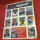 2004 New York Giants stickers set 2 of 5 from the NY Post NFL football