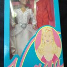 "Vanna White 11.5"" doll~new in box~white & silver Dress~HSC Home Shopping Club"