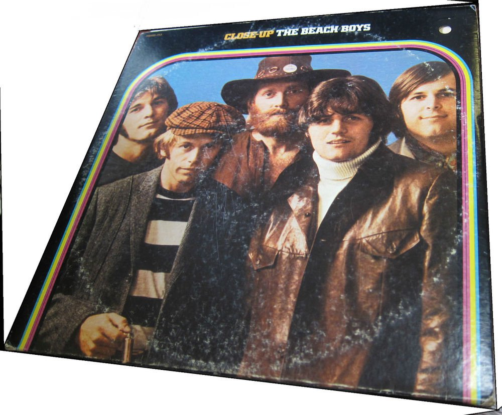 The Beach Boys Close Up~2 records gatefold~vintage vinyl/record/LP~FREE US SHIP