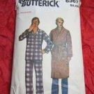 vintage Butterick Sewing Pattern 6367 Men's Pajamas & Robe size Medium M
