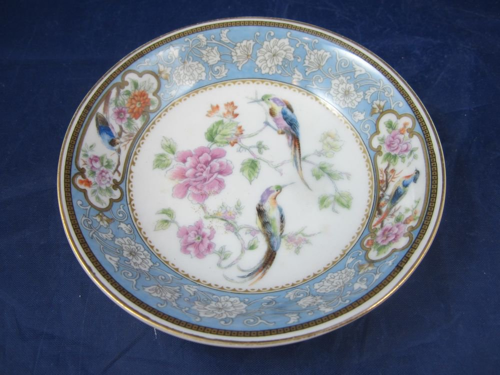 "Bird of Paradise 5-3/6"" bowl royal Bavarian Hutschenreuther Selb Bavaria"