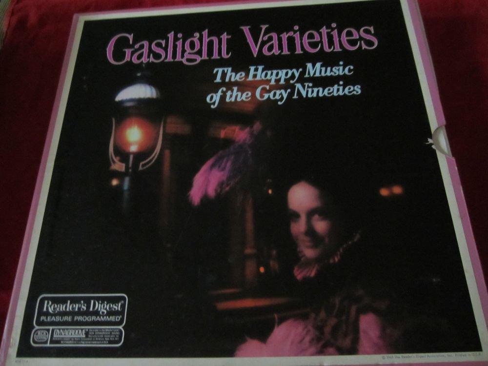 Gaslight Varieties Reader's Digest box set of 6 records~vintage LP/record/vinyl