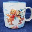 Pooh's Winter Wonderland 1996 mug Disney Store Collectible