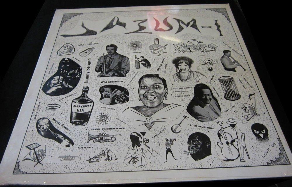 Jazum 1~SEALED vintage vinyl/record/LP/album~Jazz recorded in 1930's