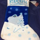 Blue Bumble from Rudolph The Red Nosed Reindeer Musical Christmas stocking New