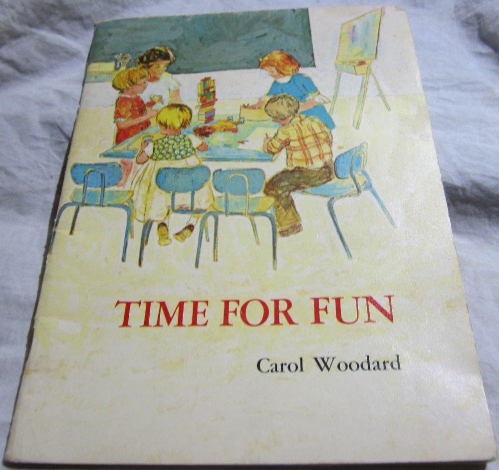 Time for Fun by Carol Woodard &Lutheran Church Press~1968 vintage childrens book