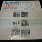 Dancers' Choice! vintage vinyl/record/LP~for Radio