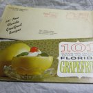 vintage 101 Ways to Enjoy Florida's Grapefruit~Florida Citrus Commission booklet