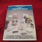 Hamilton Beach kitchen appliances catalog/brochure circa 1980s~collectible