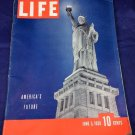 June 5 1939 Life Magazine World War II America's Future Statue Of Liberty