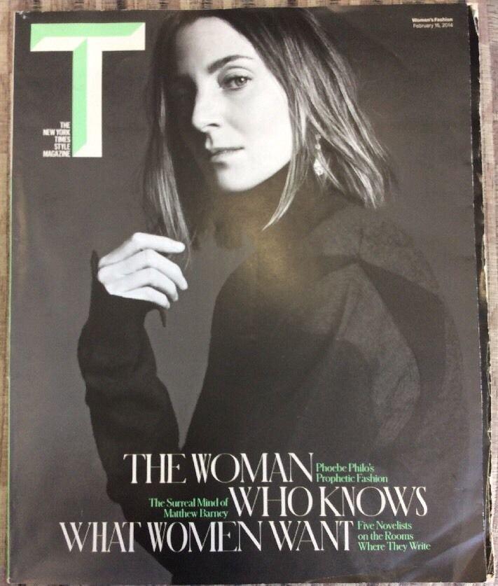 The New York Times Style Magazine Febuary 16 2014 Phoebe Philo