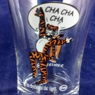 Vintage Esso Exxon Glass Petroliana Cha Cha Cha The Rhythm Of The Tiger dancing