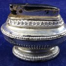 Vintage Ronson Queen Anne Lighter Tabletop Silver Tobacciana ornate design