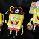 3 Spongebob Squarepants candy dispensers Sponge Bob
