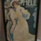 E.A. Mele & Co. Poster by Marcello Dudovich 1907 illustration of 2 women