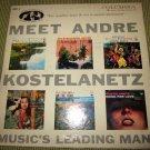 "Meet Andre Kostelanetz~KZP-1~7"" vintage Record/LP/Vinyl/album~FREE US SHIP"